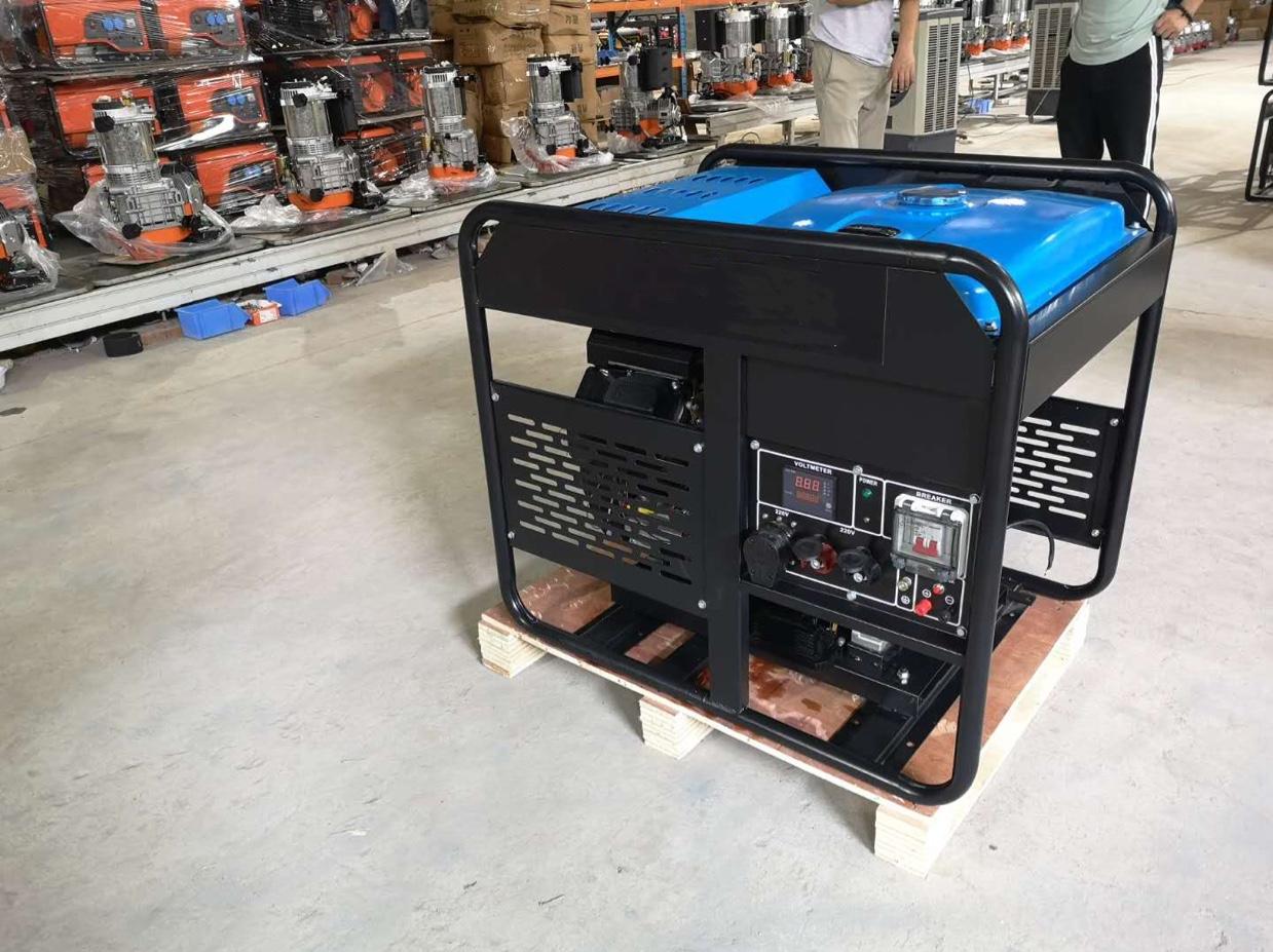 汽油发电机双缸