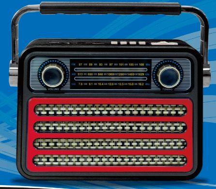 CMiK收音机 MK-121多波段插卡收音机