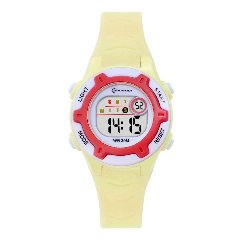 名瑞可爱儿童手表夜光防水运动男孩女孩学生电子手表