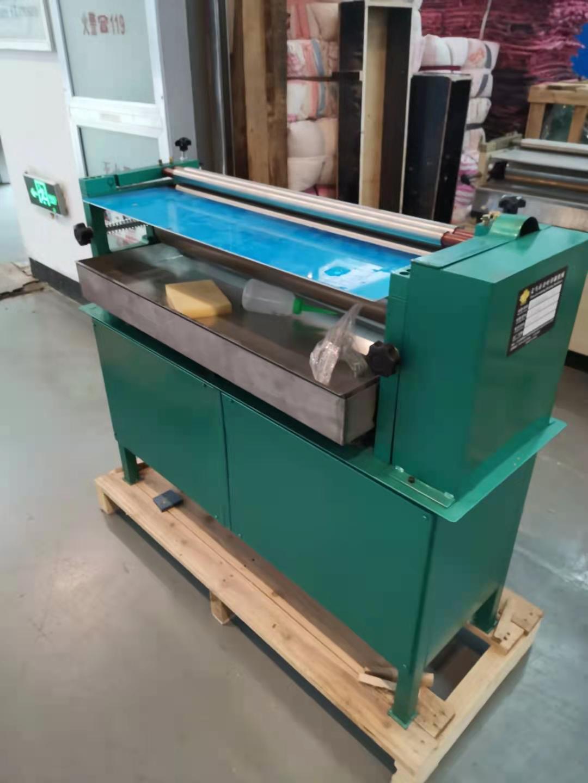 印刷机械上胶机LR-700调速加热胶水机