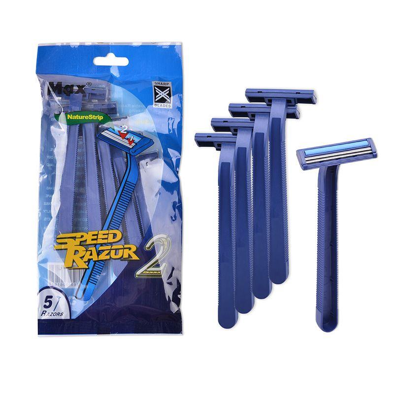 两层彩袋装 5支剃须刀 RAZOR  剃须刀便携装
