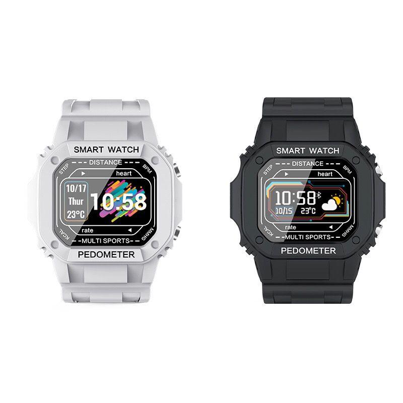 i2智能彩屏手表户外运动心率血压监测电话信息提醒防水手表