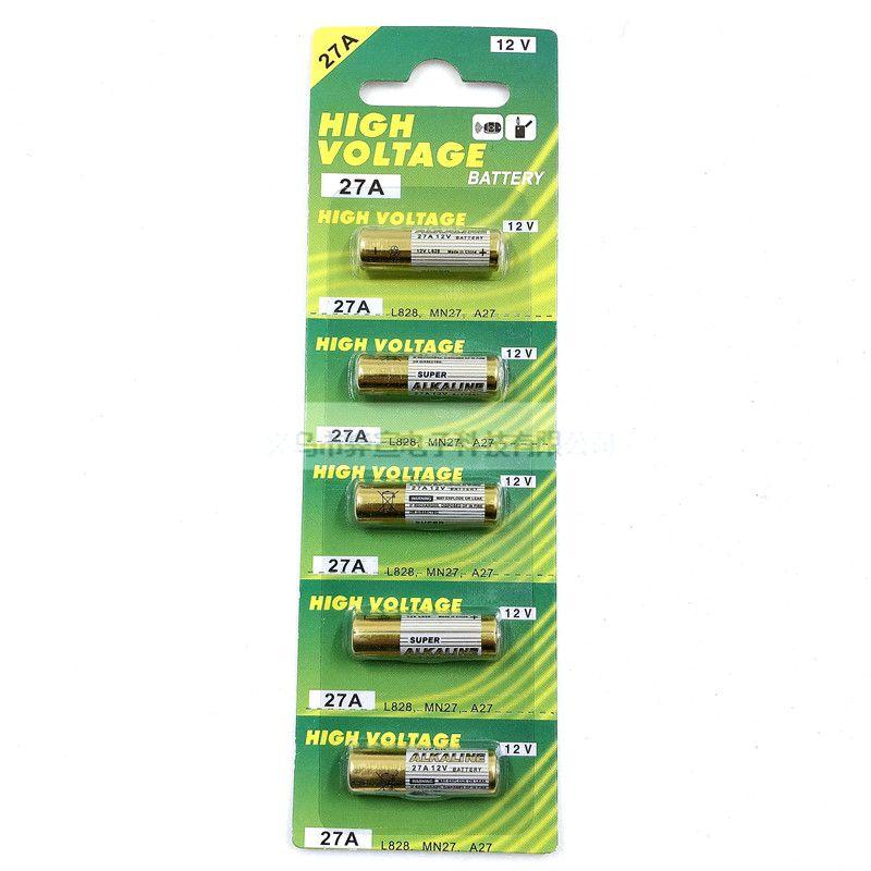 27A12V碱性干电池灯饰汽车遥控器防盗器门铃干电池批发