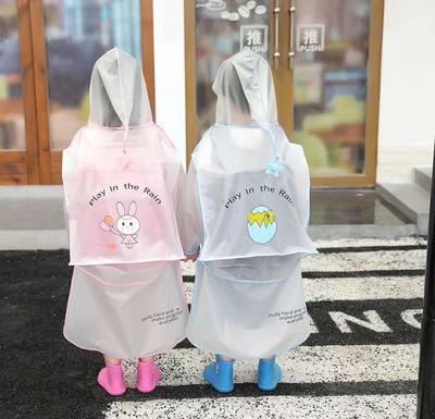 EVA环保背包卡通雨衣