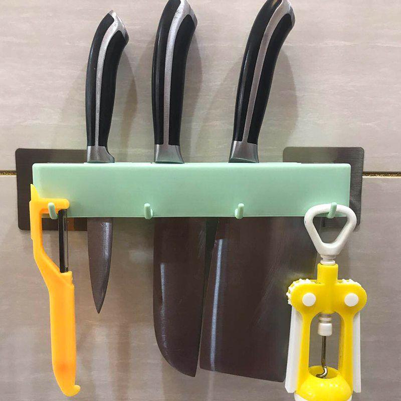 厨房刀架免打孔壁挂式多功能置物架家用挂钩架新品收纳架批发