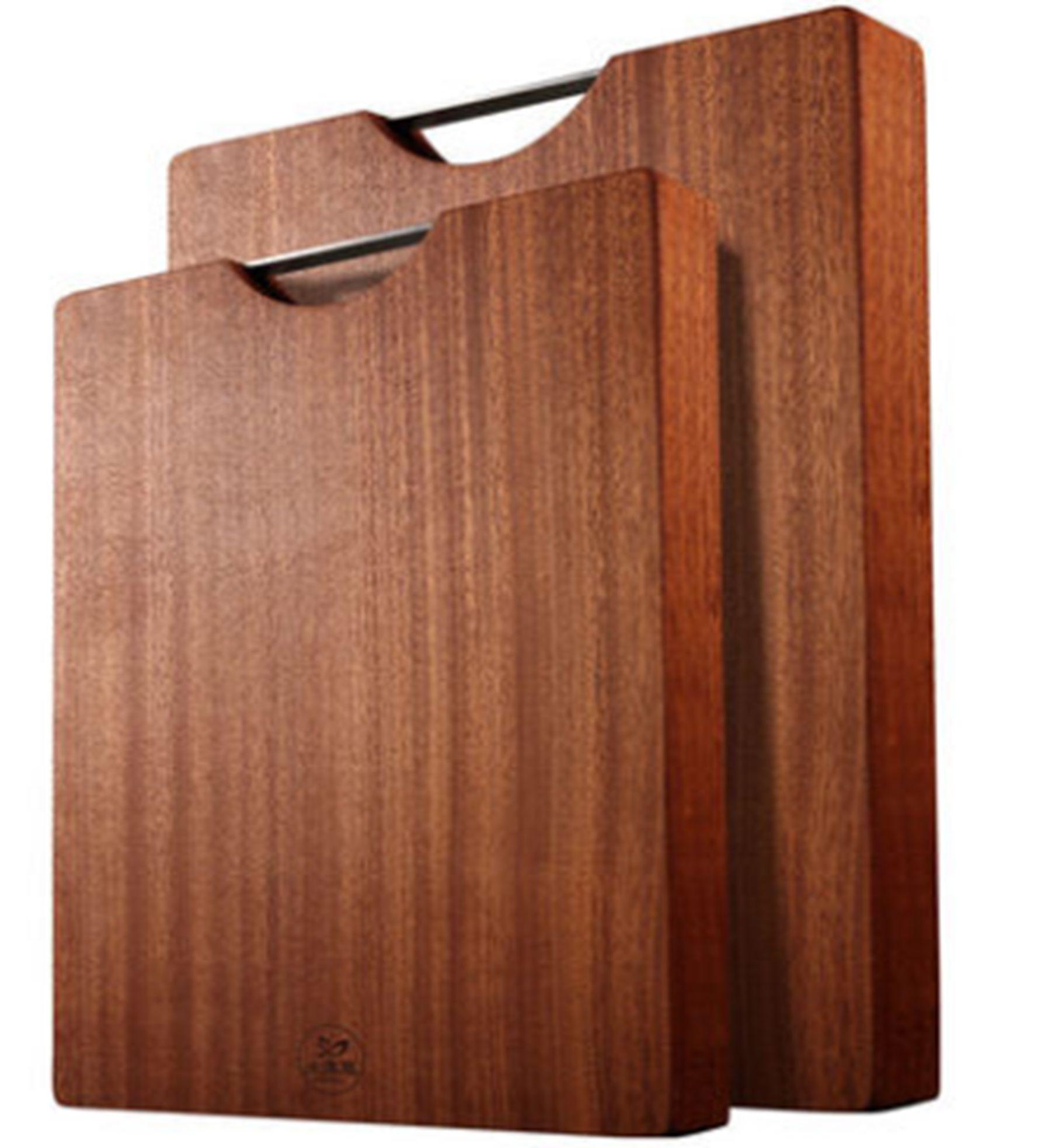 义乌好货 小号乌檀木方形整木菜板(40*28*3cm)/YK