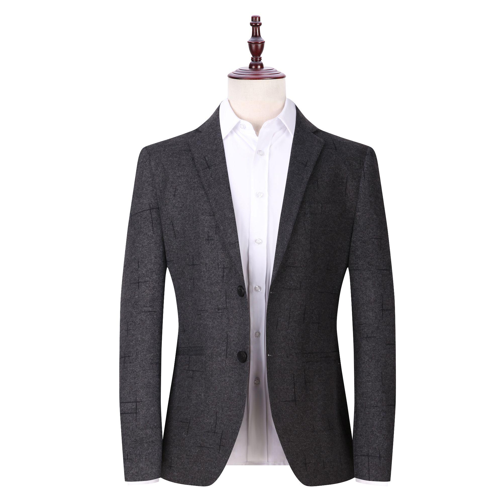 新款西装男春秋男式休闲小西装男士西服纯色韩版西装外套