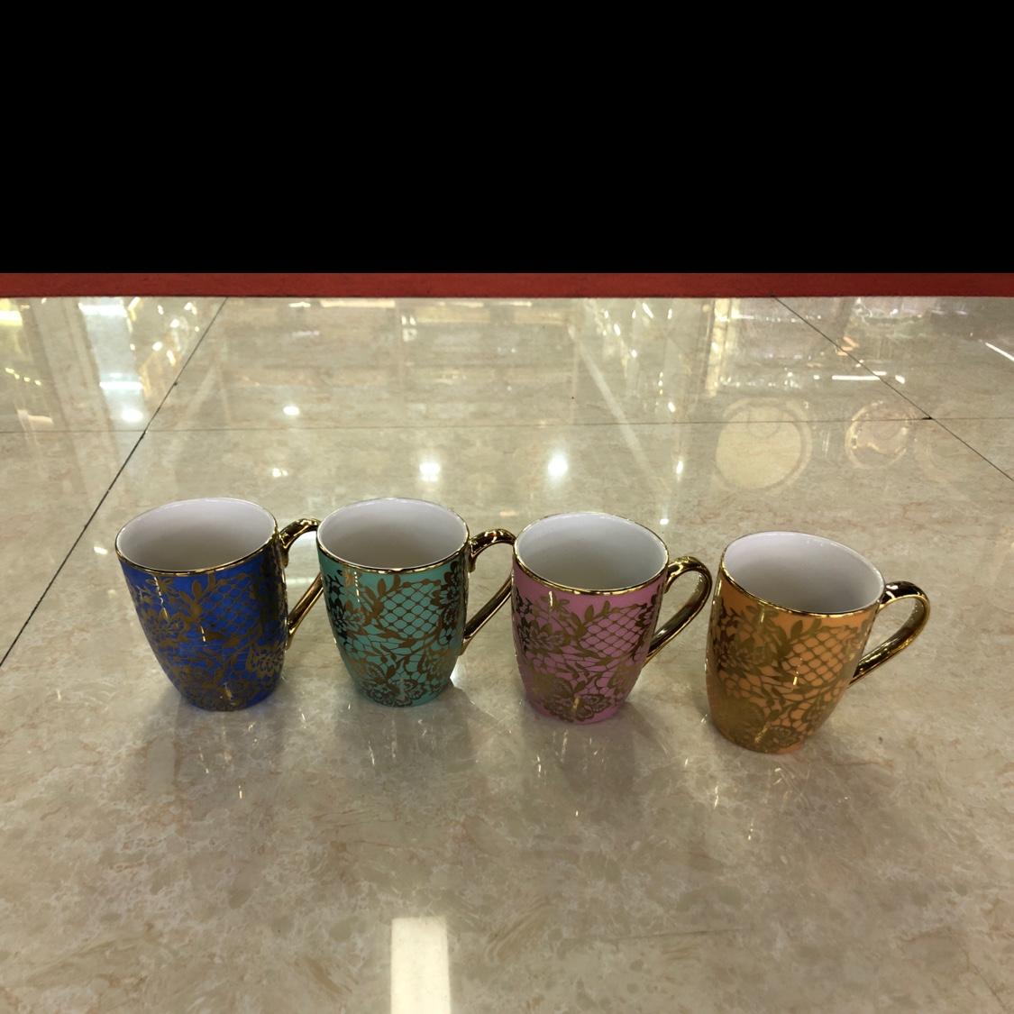 高温骨瓷水杯
