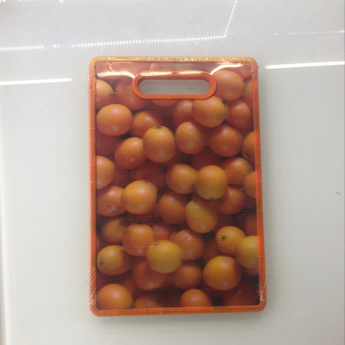 3D金桔水果菜板