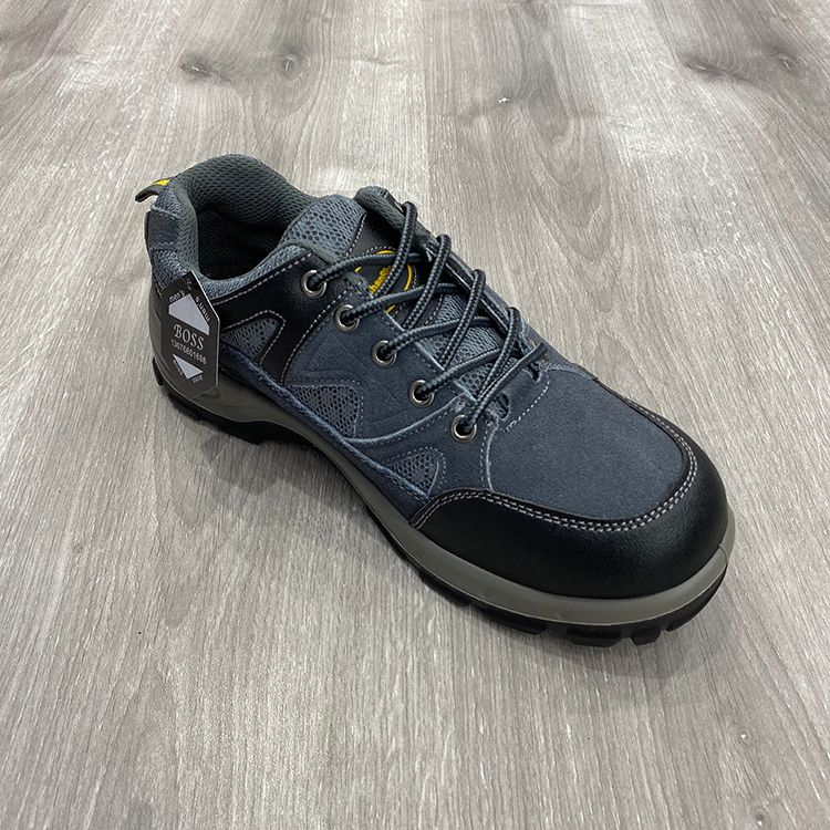 customized leather safety shoes男鞋钢头鞋劳保鞋