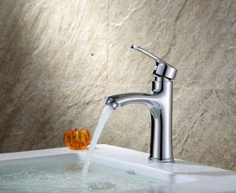 全铜面盆罗马 冷热 新款洗脸盆龙头 台盆水龙头