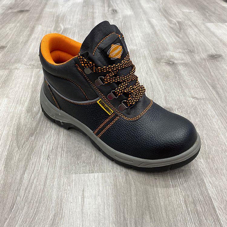 PU Leather Climbing Men Safety Shoe 男钢头鞋