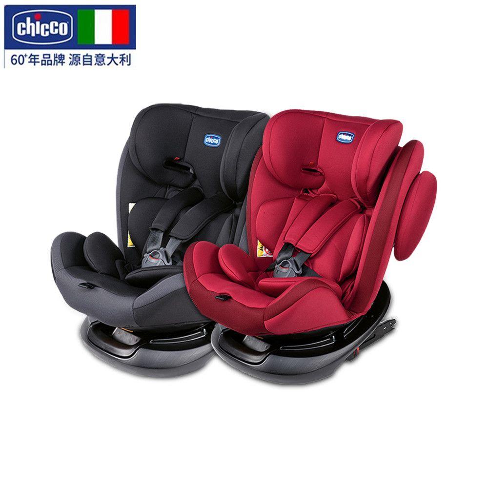 chicco智高意大利高端母婴进口婴幼儿360度可旋转安全座椅  黑色