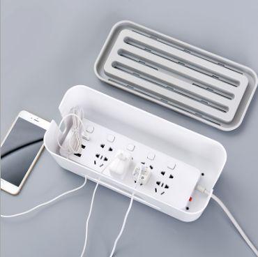 电线收纳盒保护整理线盒插线板电脑集线盒插座插头防护收线理线盒