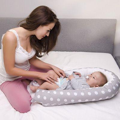 厂家直销便携式可拆洗新生儿床中床婴儿子宫仿生床
