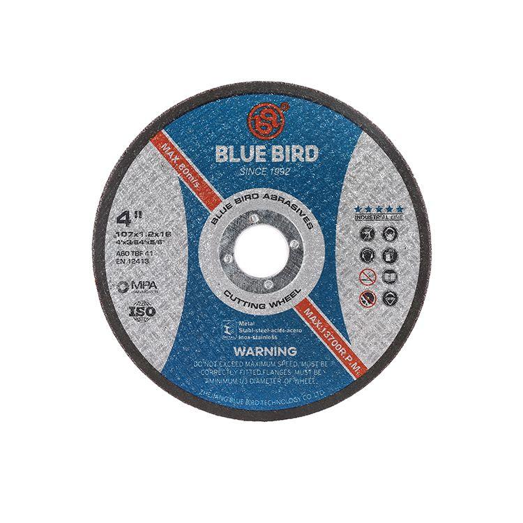 切割片 砂轮片 印度市场 4寸 A quality 双网 105 107 cutting