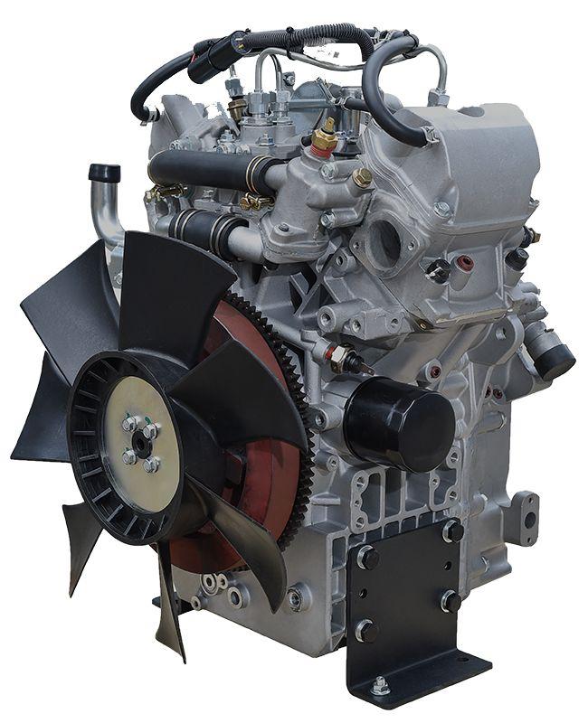 无锡得瑞RD2V80水冷双缸柴油发动机