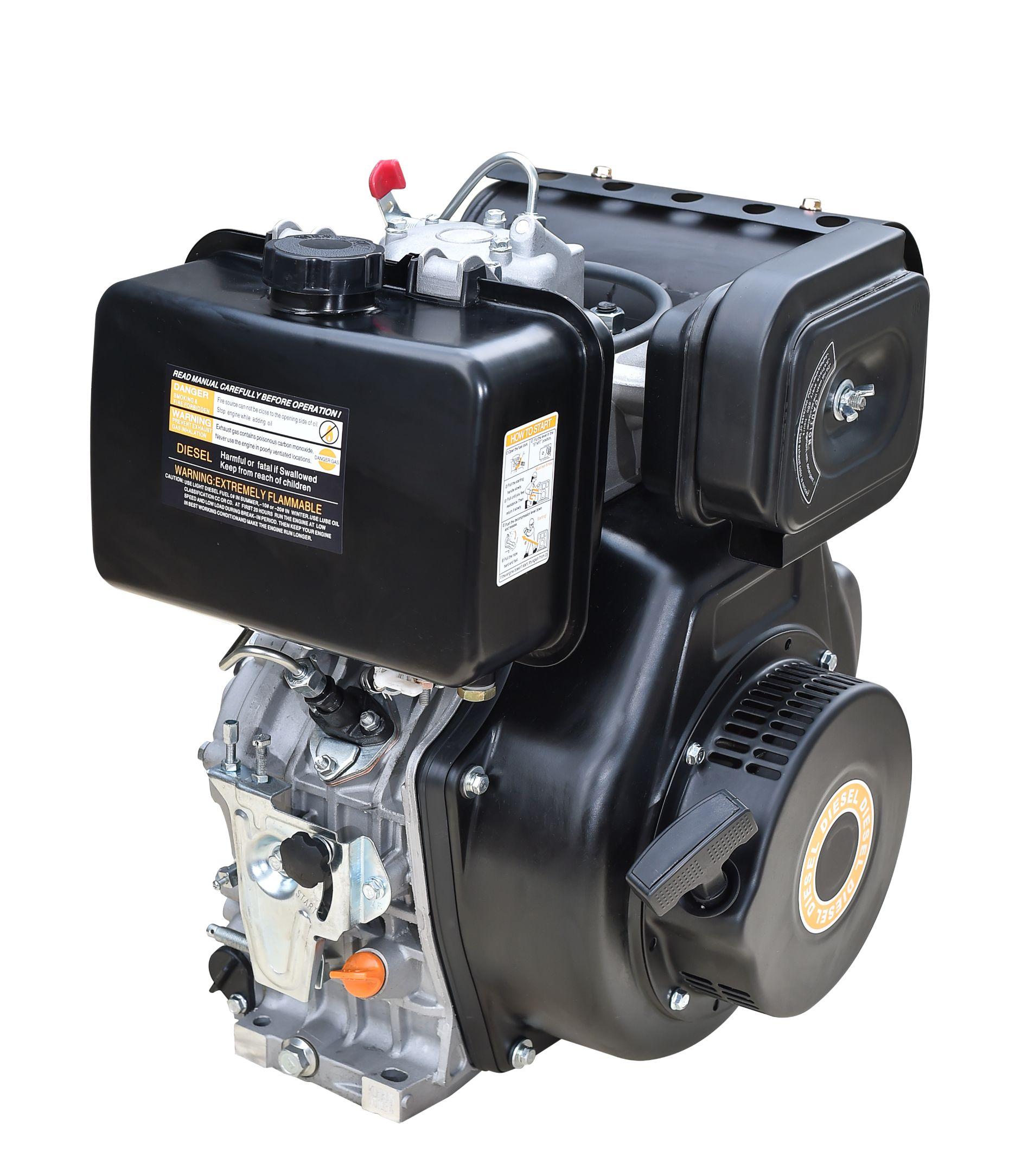 无锡得瑞RD192F风冷单缸柴油发动机