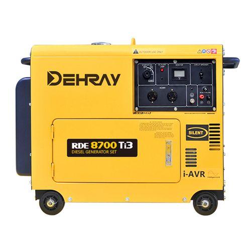 得瑞8KVA小型静音柴油发电机三相电启动380V