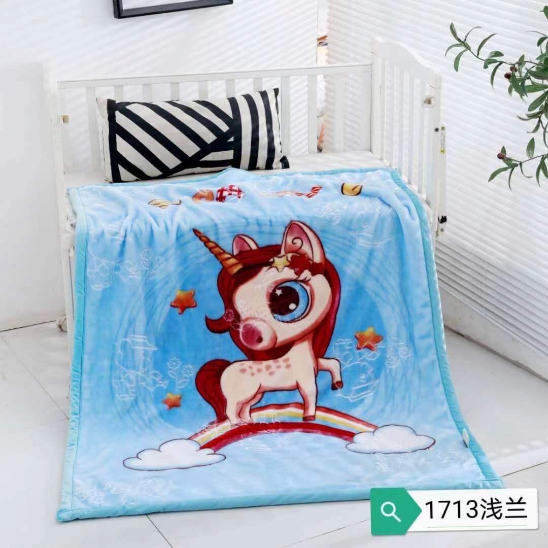 儿童独版印花毛毯120*150