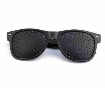 小孔眼镜针孔眼镜 针孔太阳镜 辅助调节预防矫正减轻各种不良视力