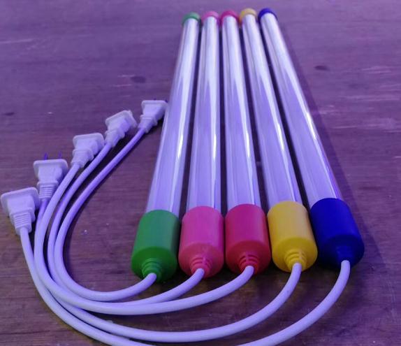 LED防水一体灯白色,红色,绿色,蓝色,RGB三色一体灯防水户外灯18瓦1.2米长度,也可带插头和不带插头两种