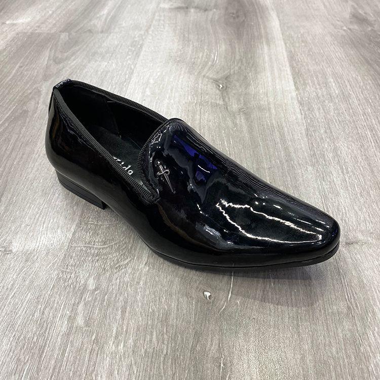 亲子款式新款英伦风正装鞋子商务皮鞋men boy shoes