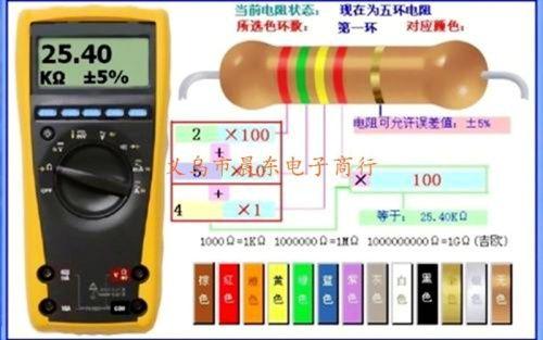 厂家供应功率2W 0.51R金属膜电阻