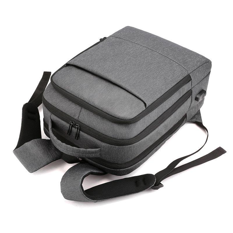 新款简约高档电脑双肩包 防水尼龙多功能SUB商务男士旅行背包