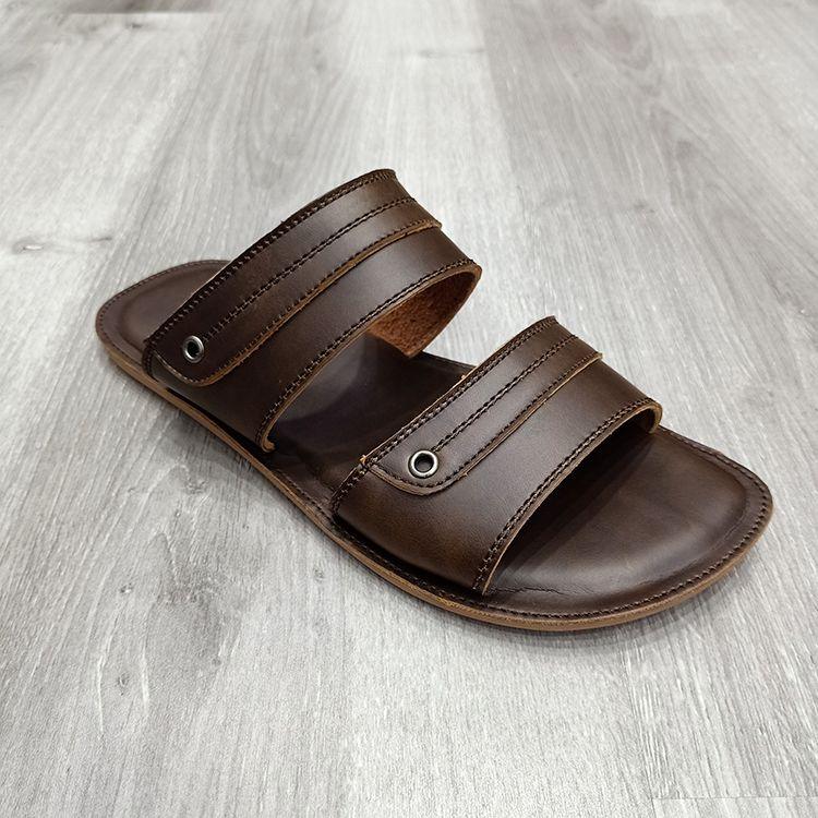 男士经典时尚男士拖鞋舒适舒适大底休闲男拖鞋 2020 men slippers