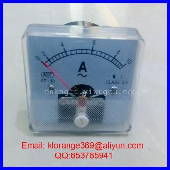 指针式电流测量仪表 电流表 AT-50