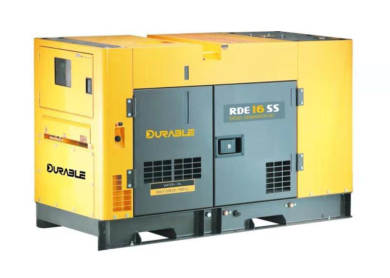 DEHRAY得瑞14KVA极超静音型柴油发电机组220V