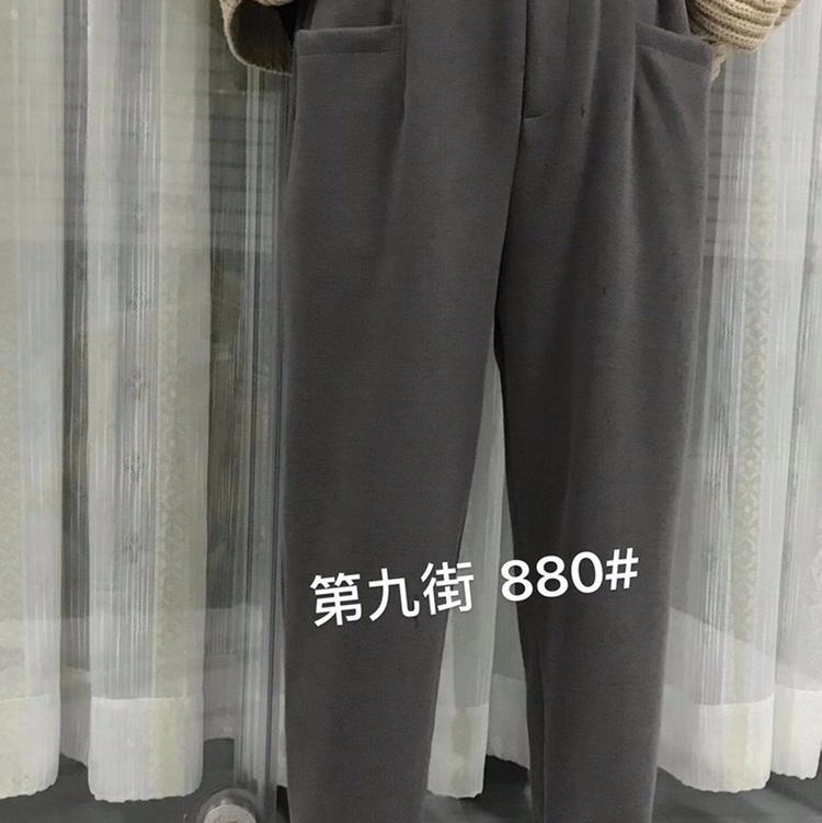 2020年秋季新款工装裤爆版时尚百搭款流行卫裤