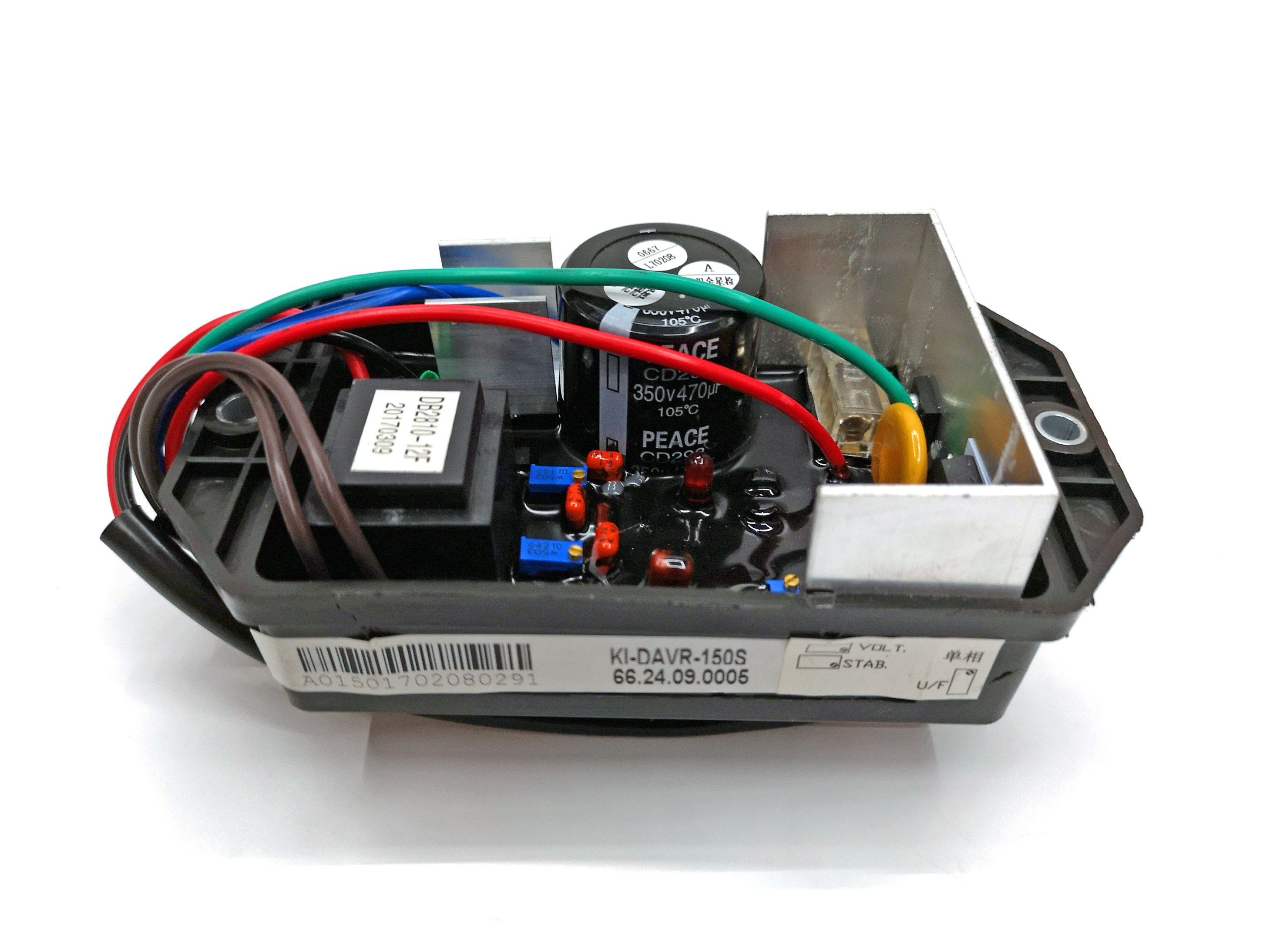 KIPOR开普15KVA柴油发电机配件KDE16STA电压调节器KI-DAVR-150S