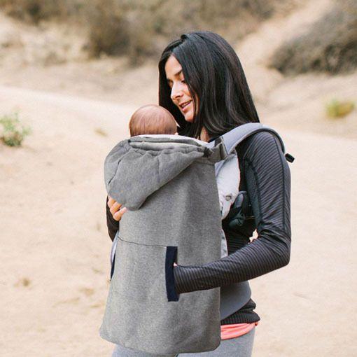 厂家直销冬天外出婴儿背带保暖披风 挡风披毯斗篷