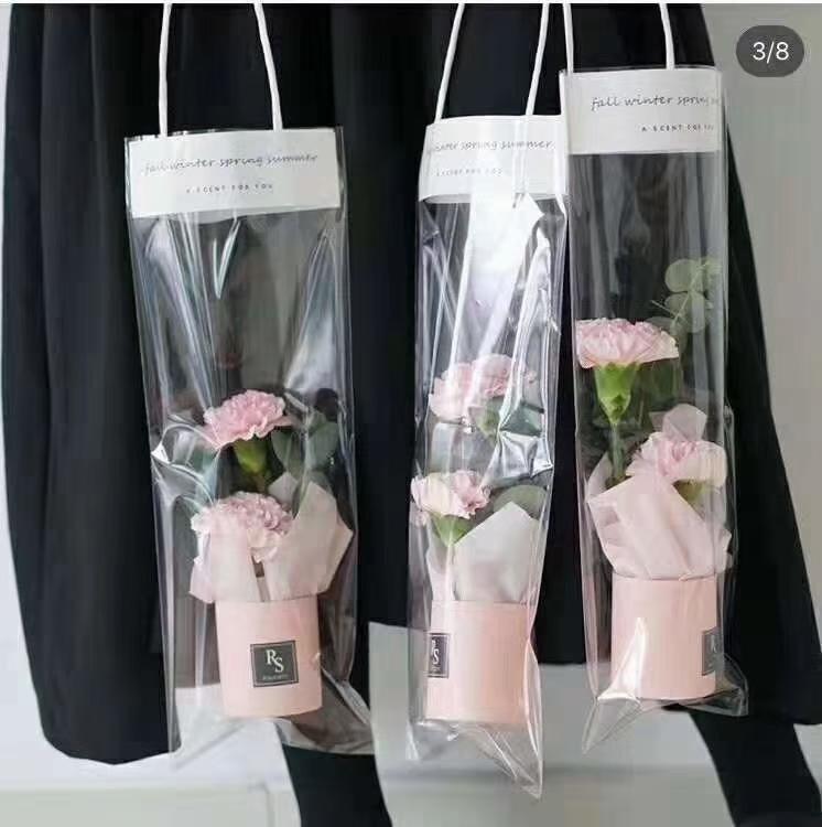 网红鲜花包装袋,情人节送花