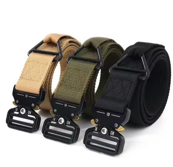 户外运动腰带宽4cm,休闲战术军训腰带