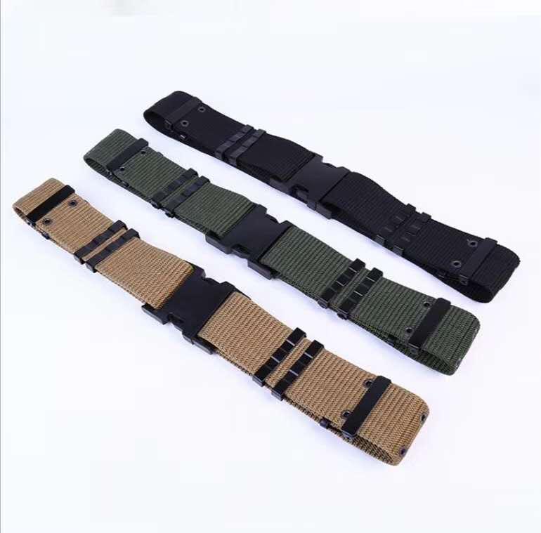 户外运动腰带,速干帆布腰带,休闲战术军训腰带