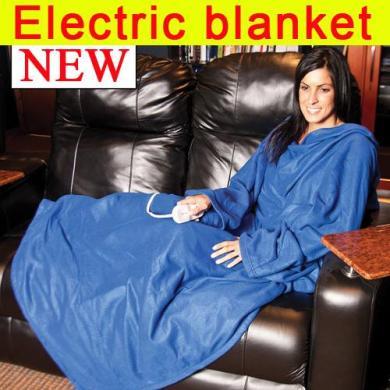 sleeve blanket 电热懒人毯