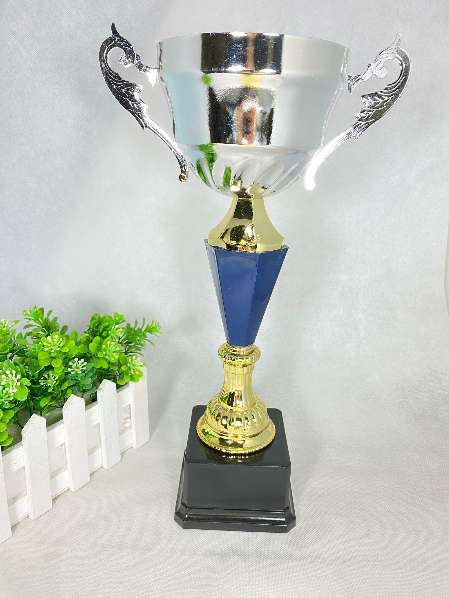 256C 35CM金属奖比赛奖励奖品杯可定制内容