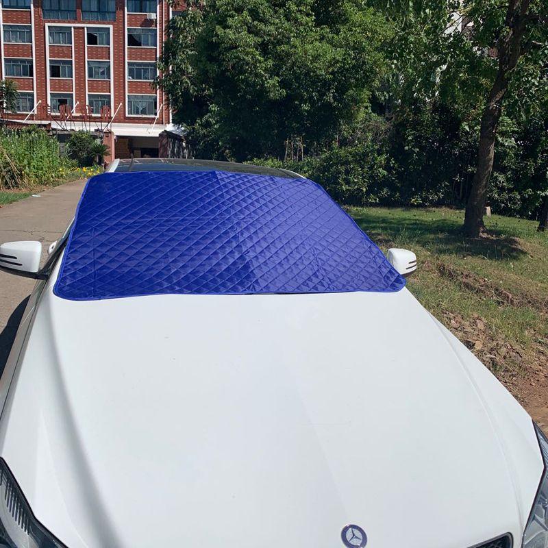 避夏神器汽车遮阳挡 挡风玻璃防嗮遮阳挡 夹棉保温遮光防嗮车罩