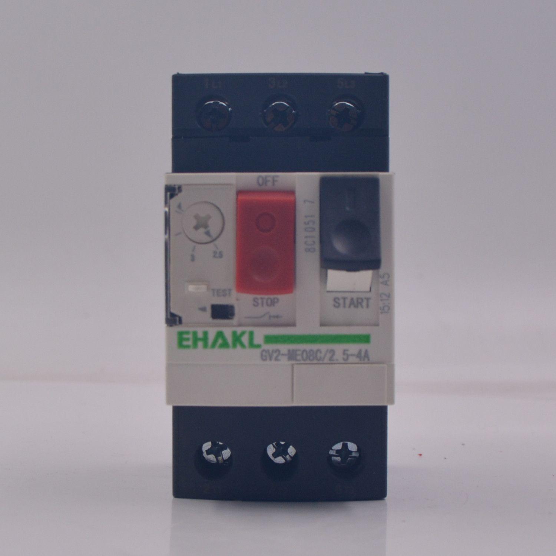 马达保护器GV2-ME08C 2.5-4A