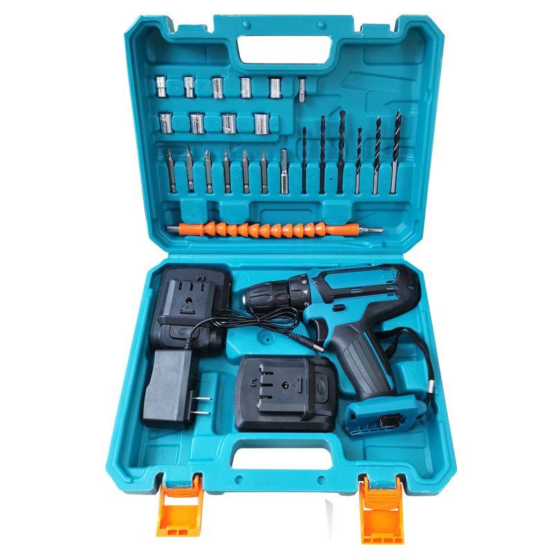 12V锂电22款电钻电动工具扭力钻冲击钻