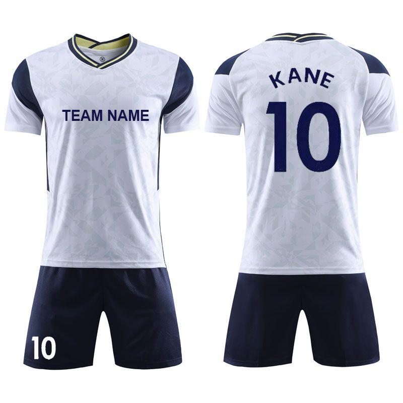 2020-21赛季热刺足球服主场可定制款式透气面料