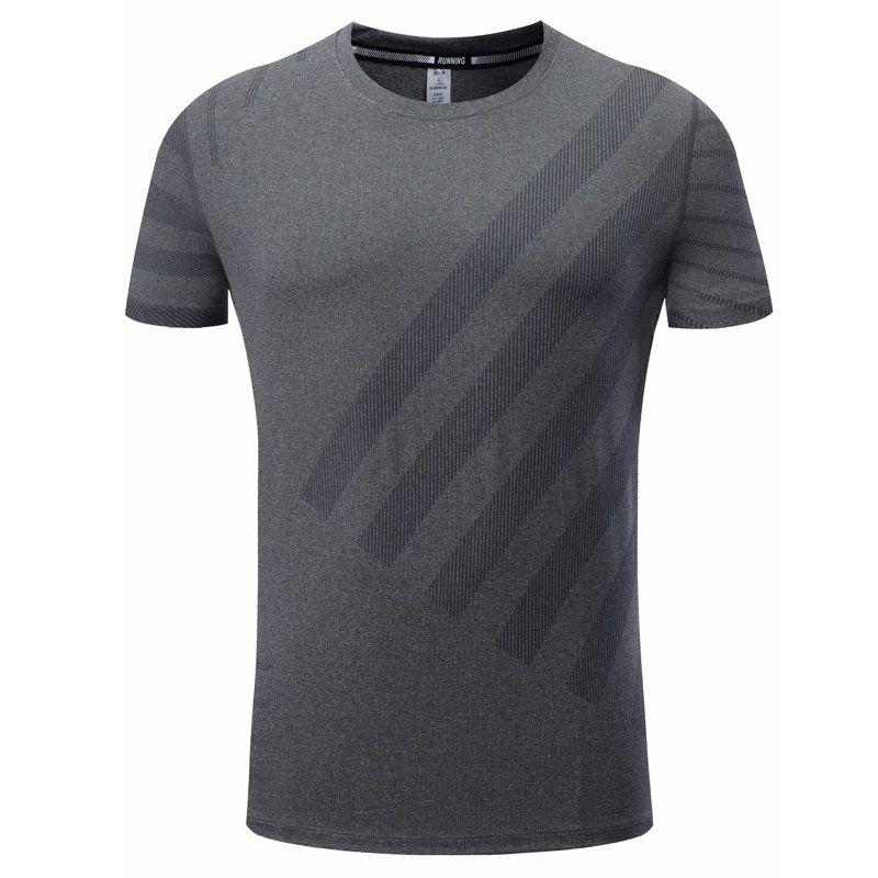 跑步运动紧身衣男士短袖紧身衣速干透气瑜伽健身服