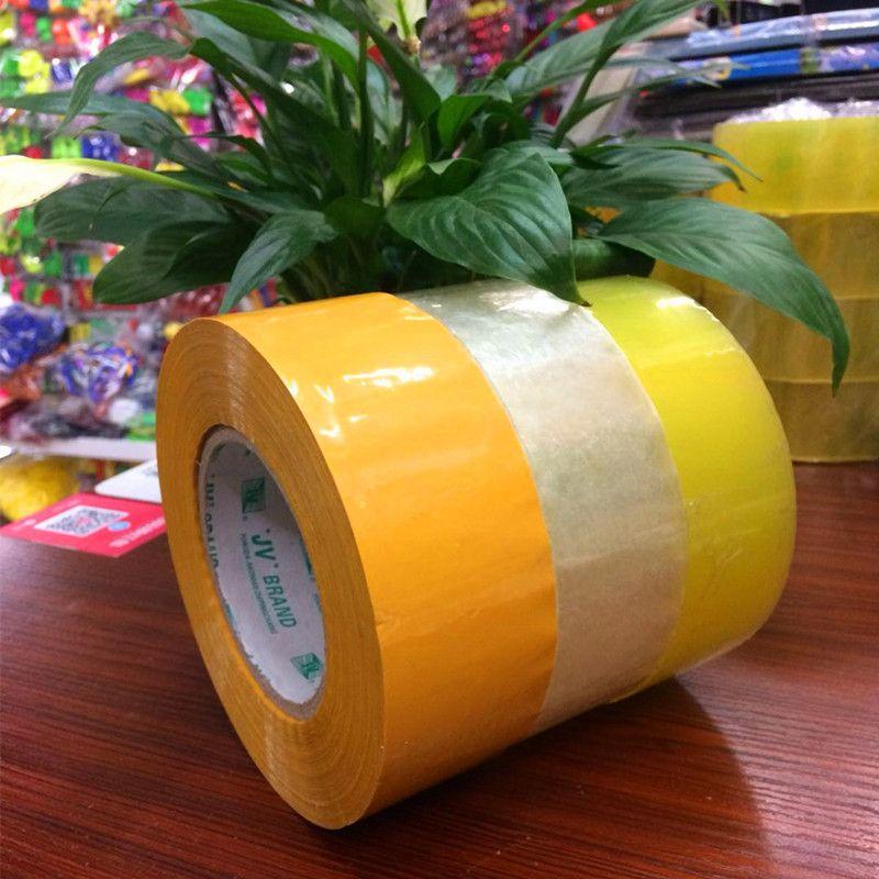 4.5常规加厚 热销高粘透明封箱打包胶带 厂家直销可定做