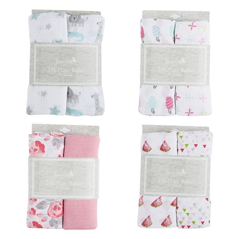 新生婴儿双层浴巾纯棉纱布巾襁褓巾宝宝抱被儿童盖毯柔软吸水批发