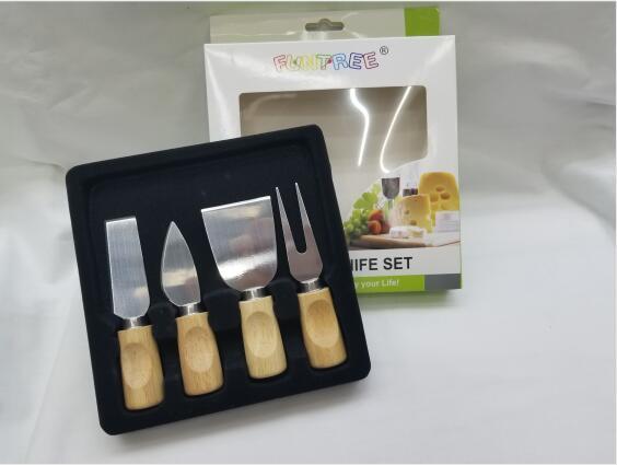 A-285 不锈钢芝士刀 奶酪套刀厨房刀具奶油刀披萨刀烘焙工具