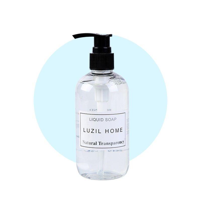 禄洗LUZIL 透明洗手液250ml/瓶