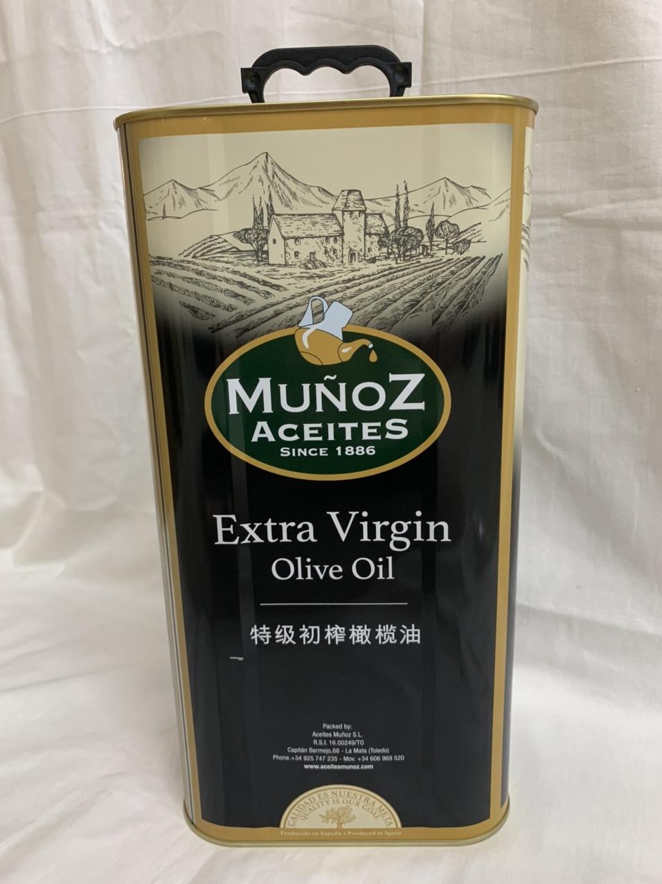 西班牙特级初榨橄榄油5升